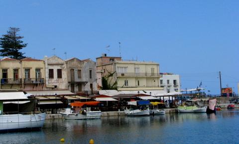 Berci si taverne din Rethymnon