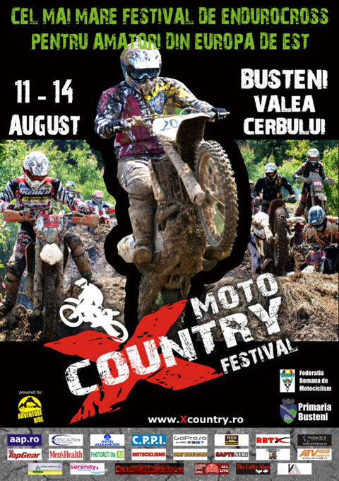 poster moto x-country busteni