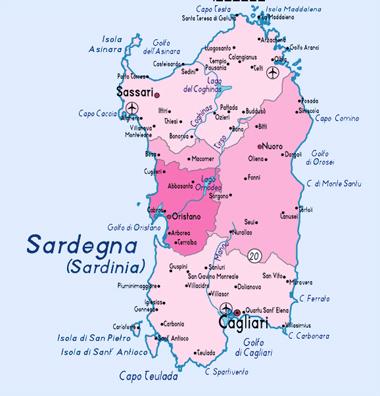 Sardinia Insula Comorilor Dordeducă