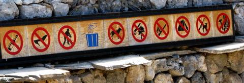Reguli de buna purtare in munti