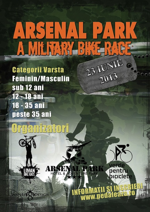 Arsenal Park – a Military Bike Race