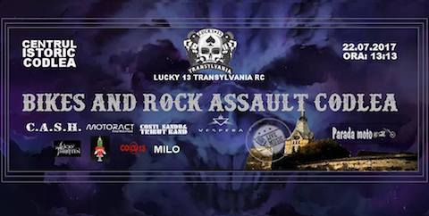 Bikes and Rock Assault Codlea 2017