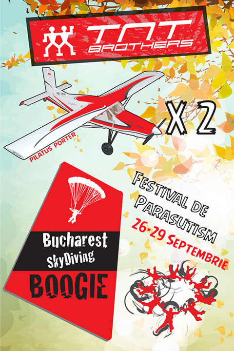 Bucharest Skydiving Boogie - festival parasutism