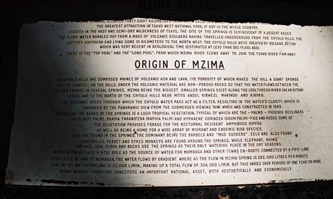 Izvorul Mzima