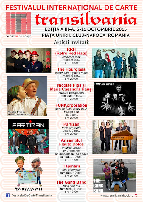 Festivalul International de Carte 2015Transilvania