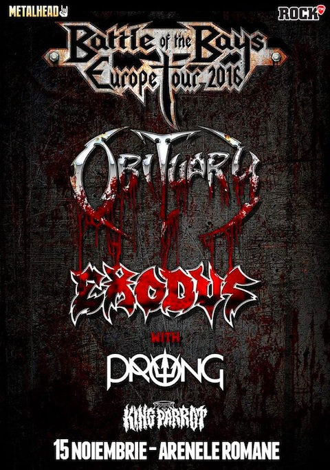 Obituary Exodus Prong