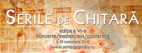 Festivalul International Serile de Chitara 2016