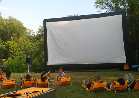 Summer Well open air cinema