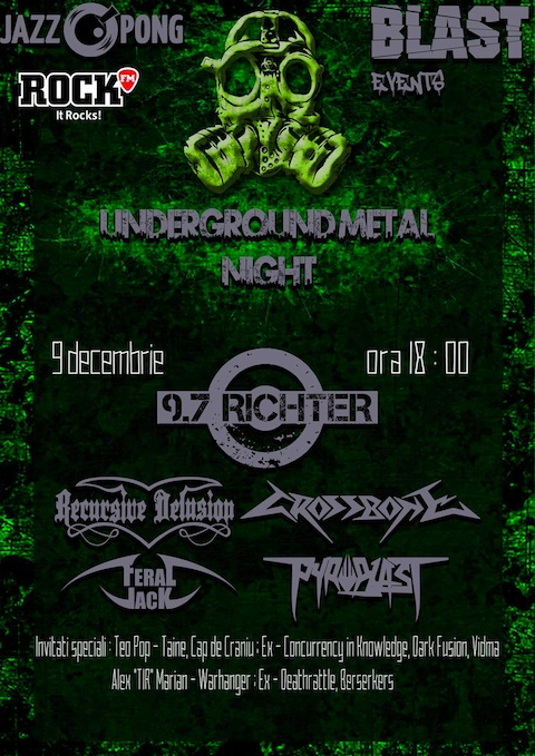 Underground Metal Night 2016
