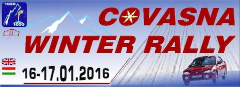 Winter Rally Covasna 2016