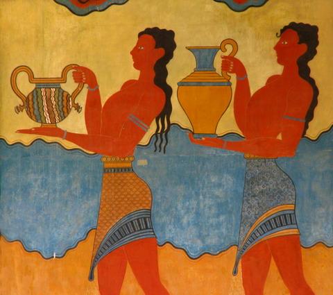 Fresce de la Knossos