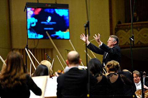 Sala Palatului Dirijor Mariss Jansons RCO Royal Concertgebouw Orchestra