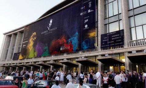 Sala Palatului festivalul George Enescu
