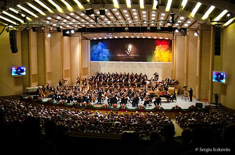 Sala Palatului Orchestra DellAccademia Nazionale di Santa Cecilia
