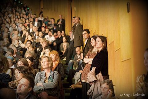 Sala Palatului RCO Royal Concertgebouw Orchestra Amsterdam George Enescu public 2